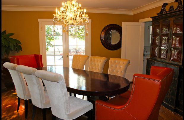 Enjoy dining in the formal dining room
